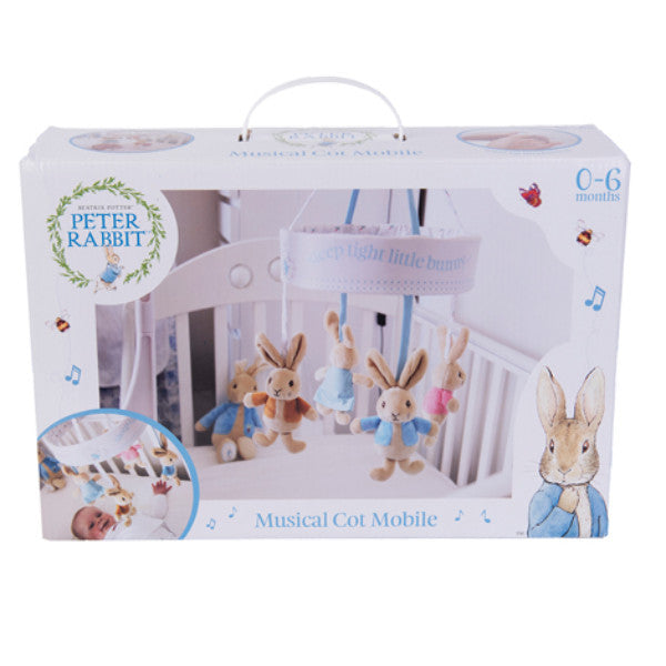 Peter Rabbit Wind Up Musical Cot Mobile cutebabyangels.co.uk