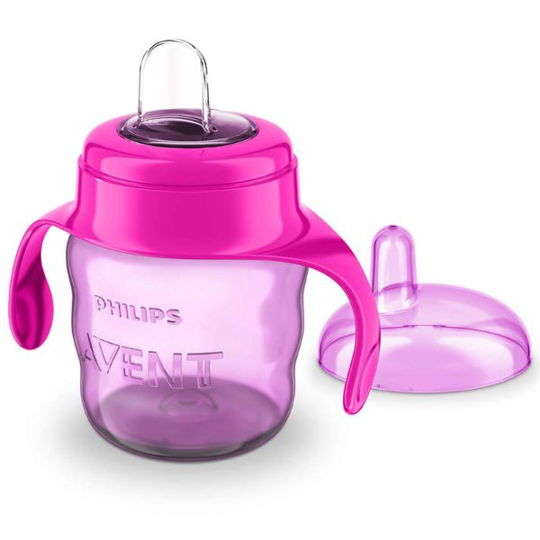 Avent Easy Sip Soft Spout Cup 200ml -  Baby Weaning Beaker - BPA FREE cutebabyangels.co.uk Free Shipping