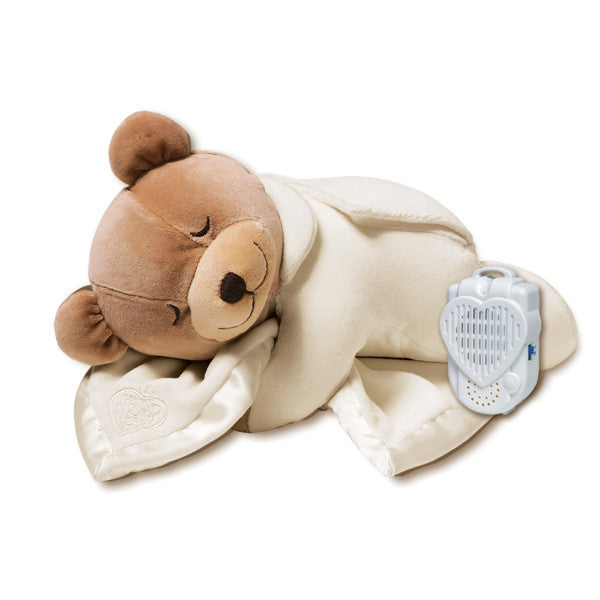 Prince Lionheart Slumber Bear Original Cream -Baby Comforter & Sound Player