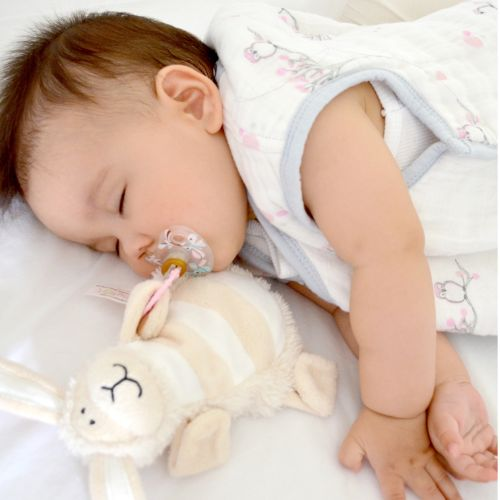 Sleepytot Lamb Baby & Toddler Comforter Plush Toy - Cream shop at cutebabyangels.co.uk free postage