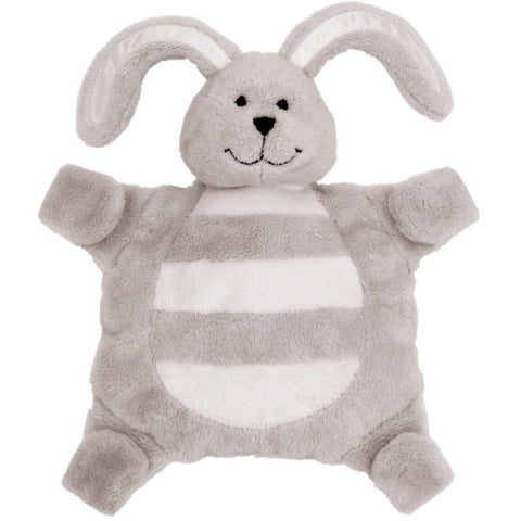 Sleepytot Bunny Baby & Toddler Comforter Plush Toy - Small Grey