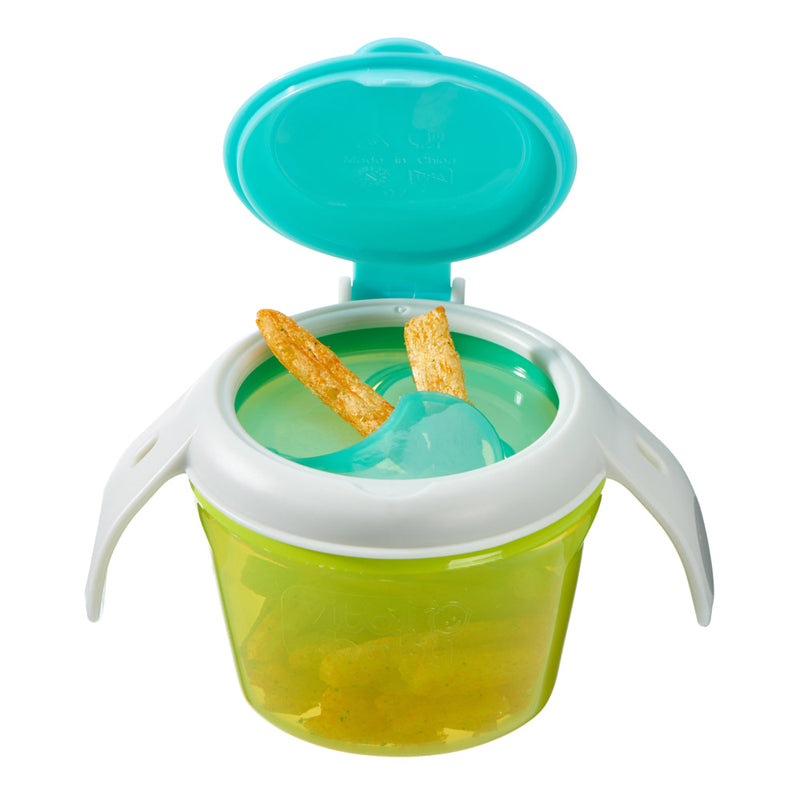 Vital Baby NOURISH Snack On The Go Fizz Food Pot - Pink or Blue  cutebabyangels.couk