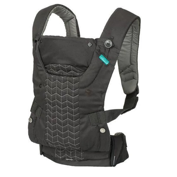 Infantino Upscale Customizable Baby Carrier & Toddler Backpack - Black cutebabyangels.co.uk FREE Shipping