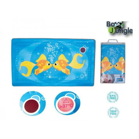 Bo Jungle B-Bath Mat Non-Slip Baby Safety Pad with Temperature Change Sensor cutebabyangels.co.uk