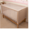 Clippasafe Insect Net - Fine Pre-Shaped White Mesh for Baby Cot