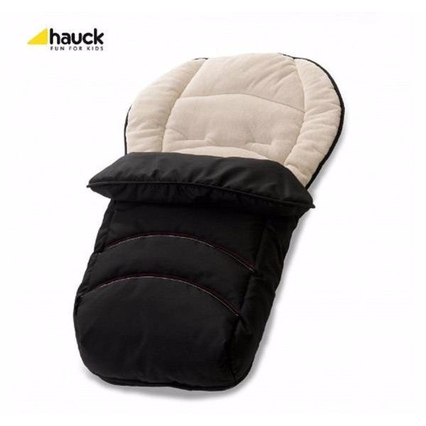 Hauck 2 Way Universal Cosytoes - Pram Footmuff & Liner black - Cute Baby Angels Ltd