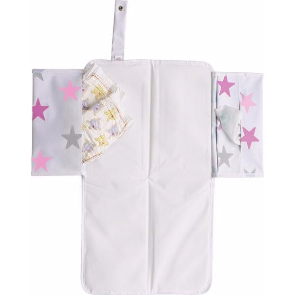 Dooky 3 in 1 Baby Changing Pack -  Pink Stars - Cute Baby Angels Ltd