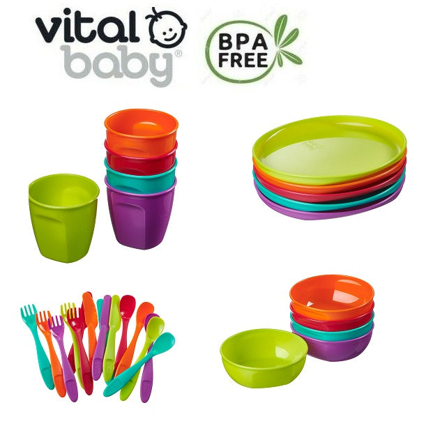 Vital Baby NOURISH Perfectly Simple feeding utensils cutebabyangels.co.uk