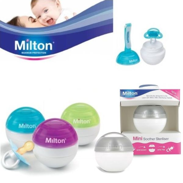 Milton Portable Mini Soother Steriliser cutebabyangels.co.uk