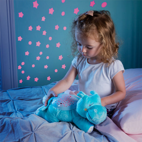 Slumber Buddy Hippo  - Musical Mobile & Wall Projector cutebabyangels.co.uk