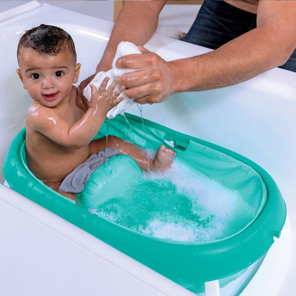 Summer Infant Newborn to Toddler Fold Away Baby Bath - Suitable from Birth to 2 Years cute baby angels ltd
