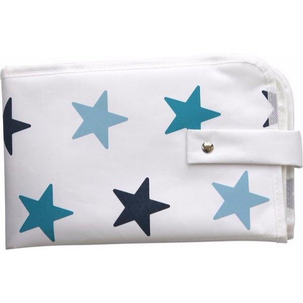 Dooky 3 in 1 Baby Changing Pack - Blue Stars - Cute Baby Angels Ltd
