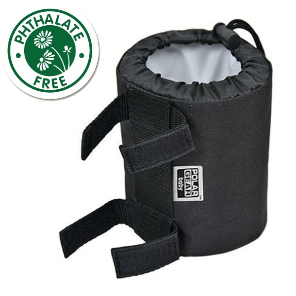 Polar Gear Go Anywhere Insulated Baby Bottle Holder - Black Buy at cutebabyangels.co.uk Free UK Shipping