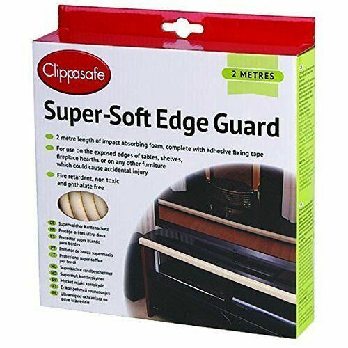 Clippasafe Super Soft Edge Guard Cream - Child Homeproofing  cutebabyangels.co.uk