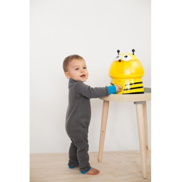 Crane Bee Ultrasonic Humidifier - Baby Nursery Room & Home Cool Mist Air Purifier
