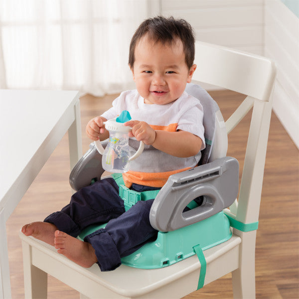 Summer Infant Deluxe Comfort Folding Booster Seat - Teal cutebabyangels.co.uk