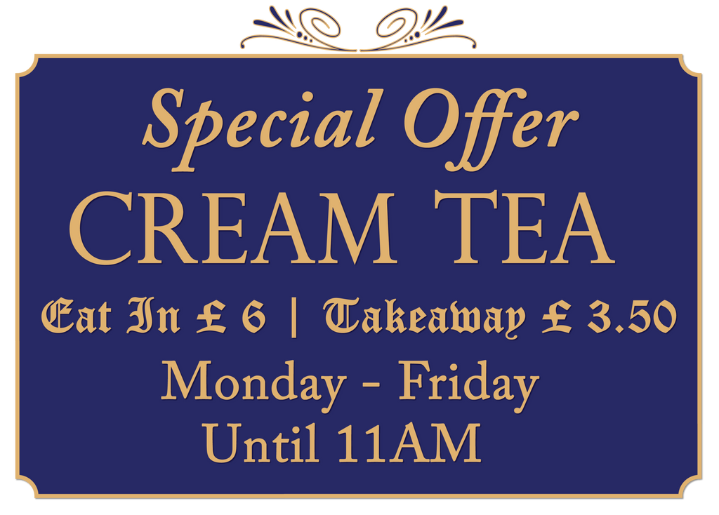 Special Weekday Offer - Cream Tea