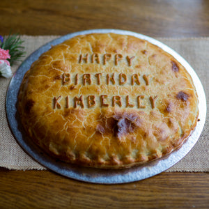 Personalised Traditional Pies