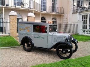 The Maids of Honour Austin 7 Delivery Van