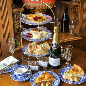 The Special Champagne Tea at Home (for 2 Persons)