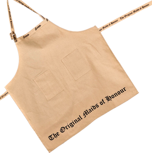 Cream Deluxe Adjustable Apron with 2 Pockets