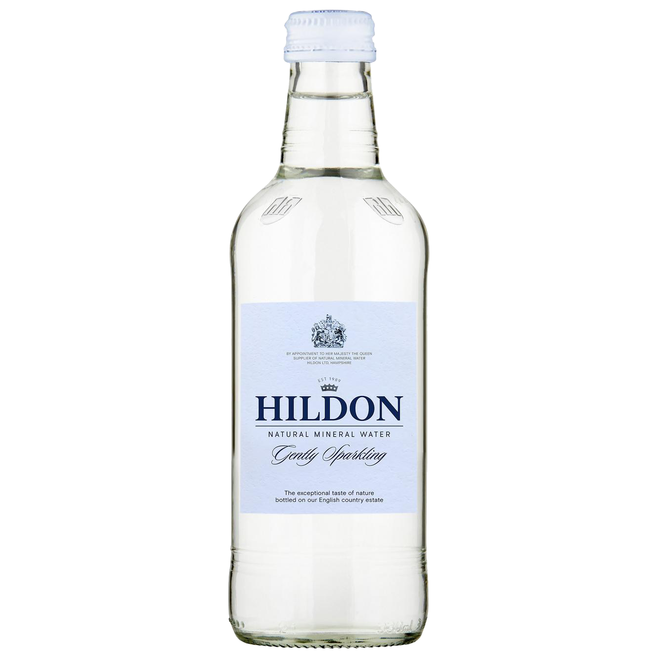Hildon Gently Sparkling Mineral Water (Glass Bottle) 330ml