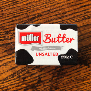 English Butter 250g - ( Salted / Unsalted )
