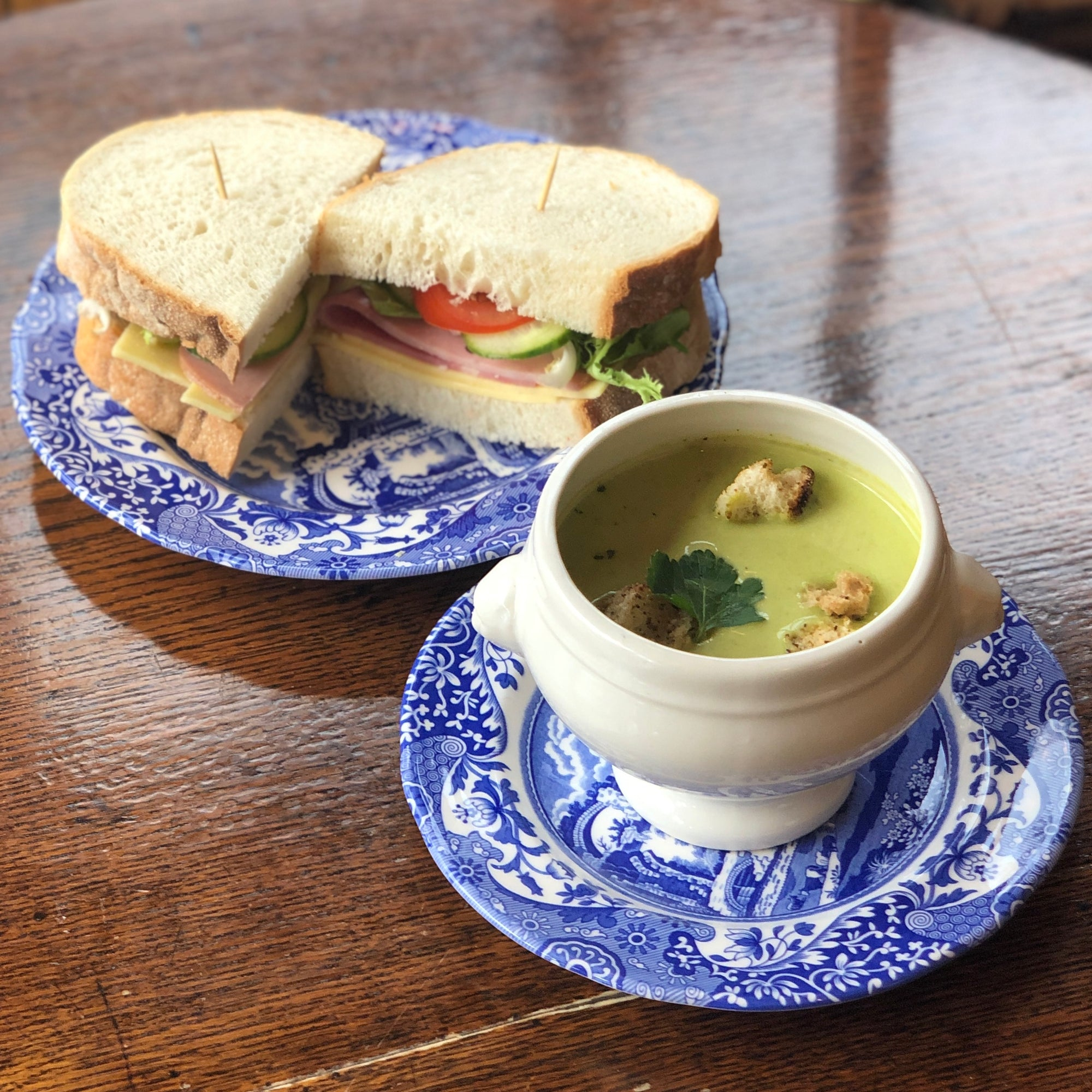 Lunch Special - Fresh Soup of the Day with any Sandwich or any slice of Quiche
