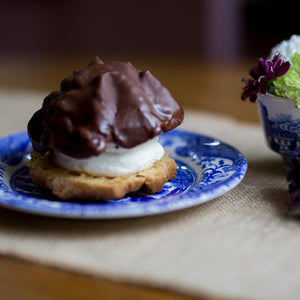 Choux Buns - Chocolate