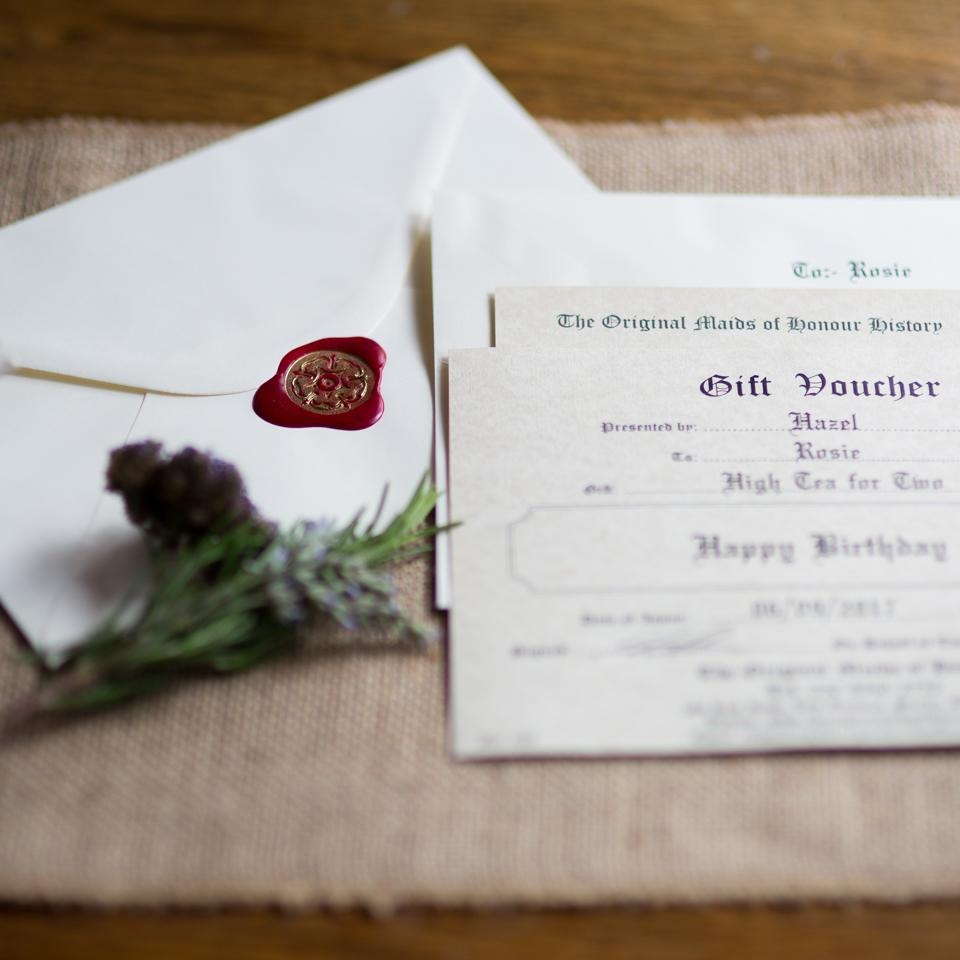Champagne Tea Voucher