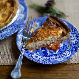 Bacon & Tomato Quiche