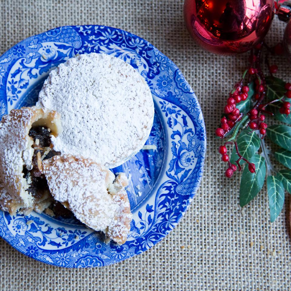 Mince Pie (with our own homemade mincemeat)