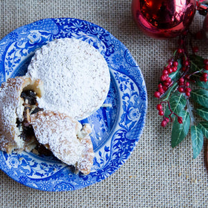 Mince Pie with our own homemade mincemeat
