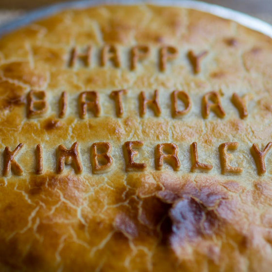 Personalised Pie