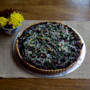 Roasted Red Onion Tart