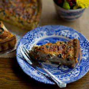 Tuna & Black Olive Quiche