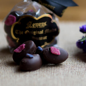 Mixed Violet & Rose Cream Chocolates 100g