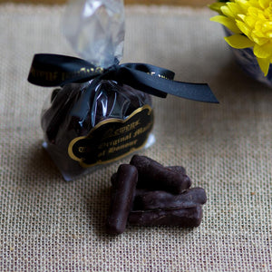 Ginger Sticks in Dark Chocolate  100g