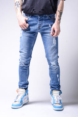 Light Blue Jeans - Jeans - mens streetwear