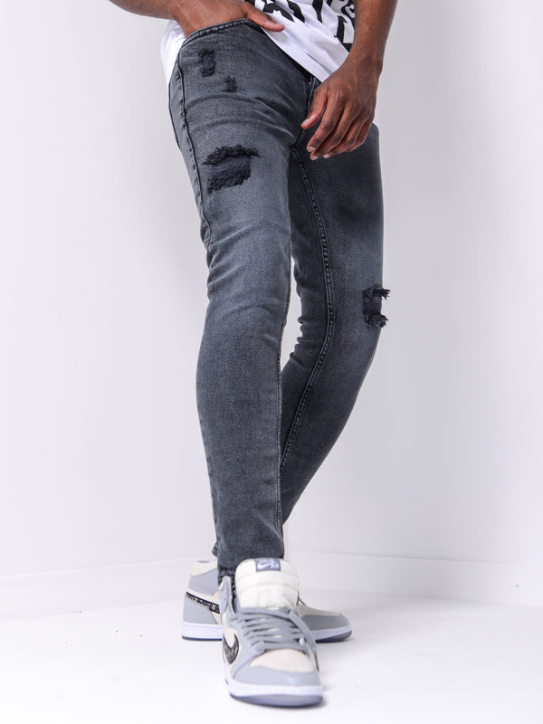 Fury Denim - Dark Gray