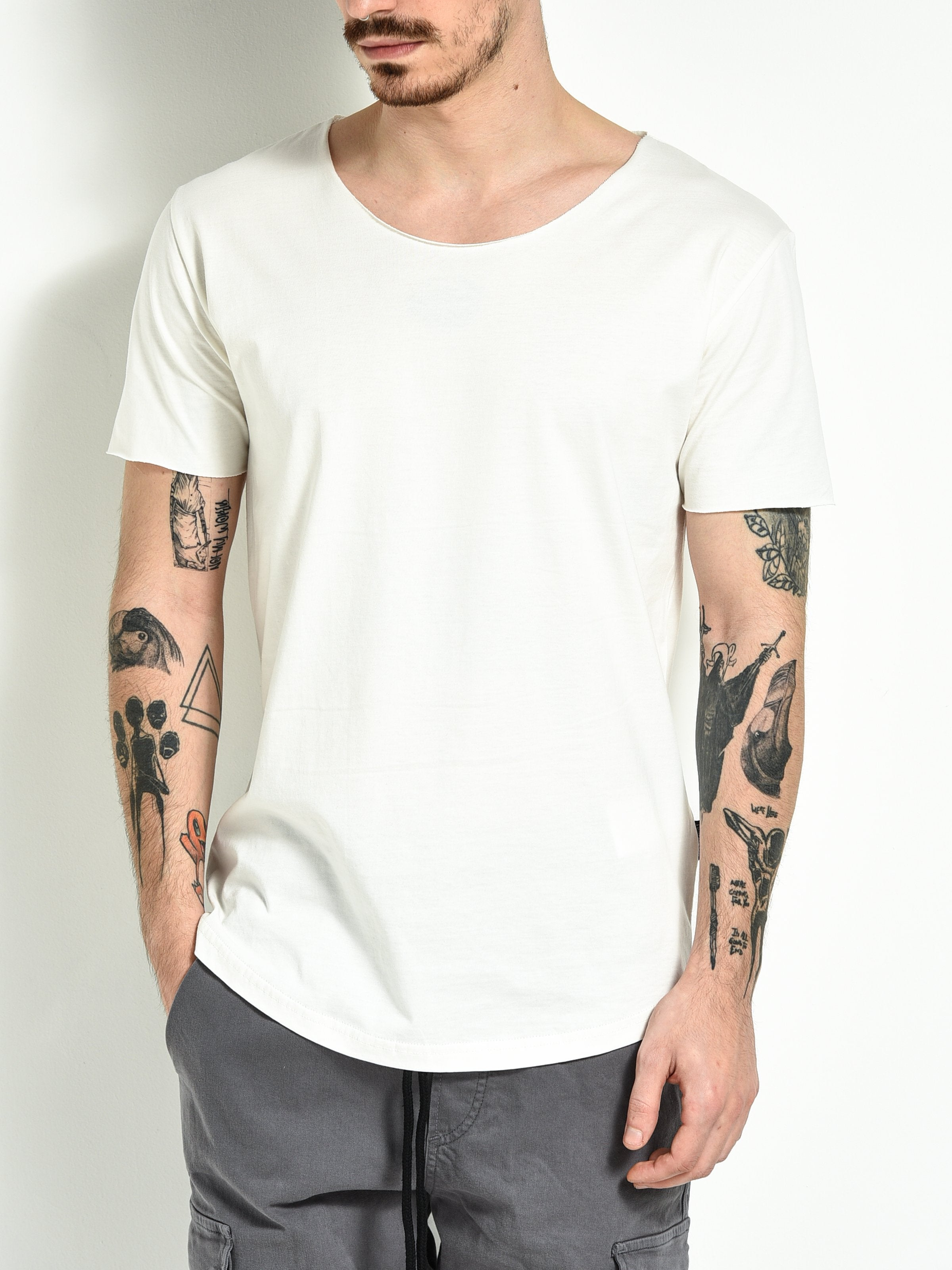 Scoop T-shirt - White