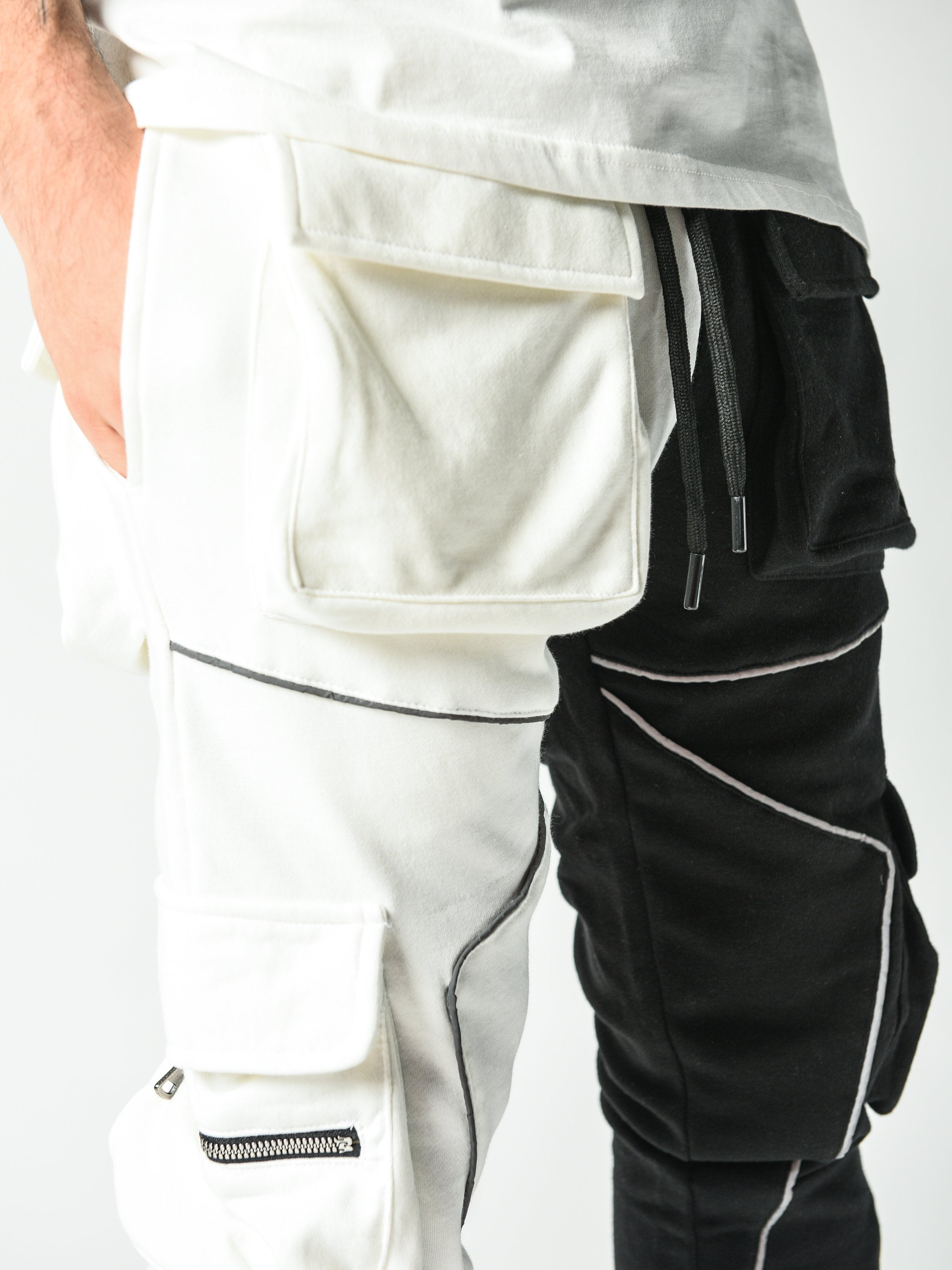 Reflector Two Color Sweatpants
