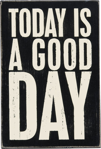 Wooden Postcard - Good Day