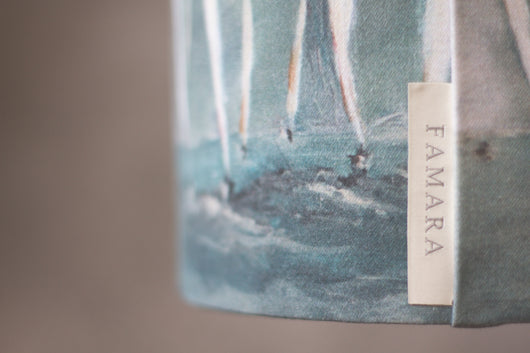 Stormy Waters Lampshade