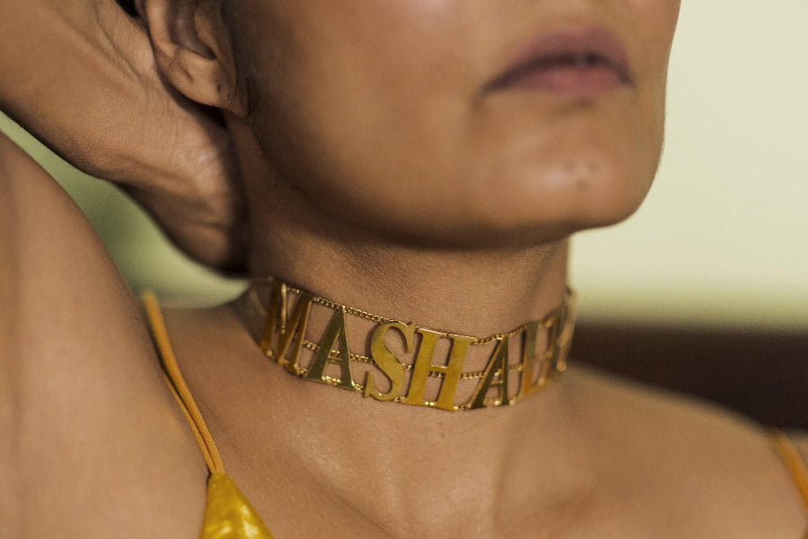 The MASHALLAH Choker - Blingistan