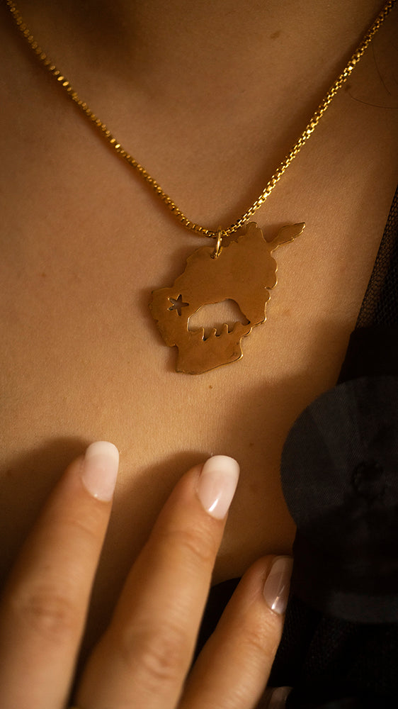 Californiastan Unisex Necklace