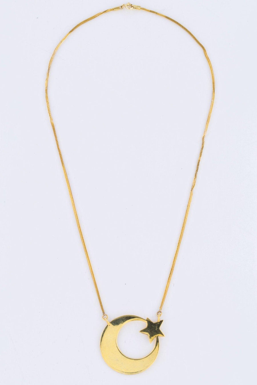 The Always and Forever Necklace - Blingistan, gold plated necklace, made with Afghanistan in mind.