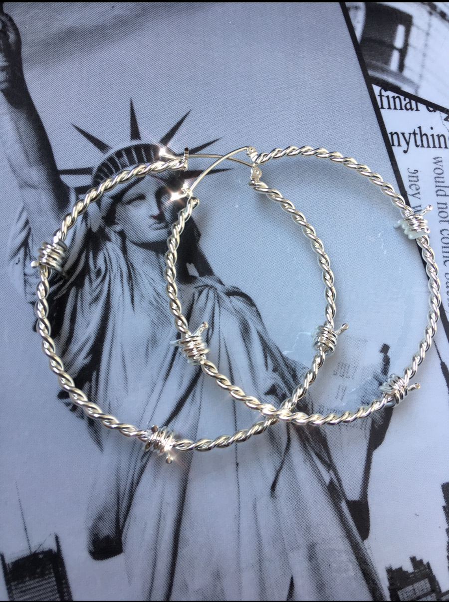 The Kabul House Essential Barb Wire Hoops
