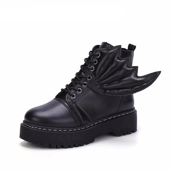 Autumn Winter Boots Side Wing - Badassnow