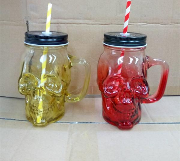Creative Skull Glass - Badassnow